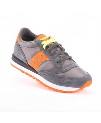 Sneakers Saucony Jazz Grigio e arancio