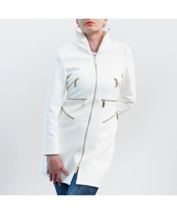 Cappotto Roberta Biagi Donna colore bianco