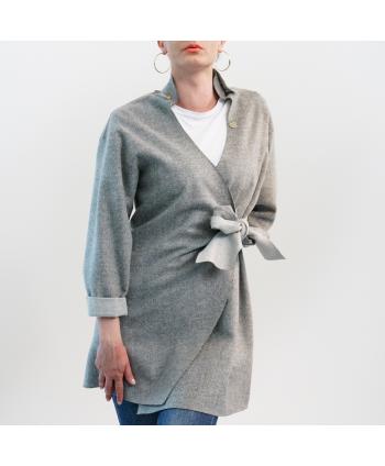 Giacca Roberta Biagi Donna in tessuto grigio