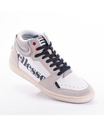 Sneakers Ellesse Bianco e grigio con dettagli blu