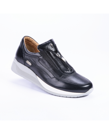 Sneakers Cesare Paciotti 4US Made in Italy in pelle colore nero