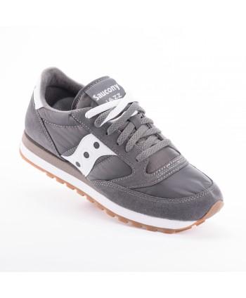Sneakers Saucony Jazz in pelle scamosciata e nylon, grigie