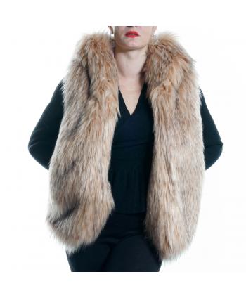 Gilet eco-pelliccia ZHAIR